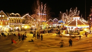 Christmas Tree Lighting Leavenworth WA